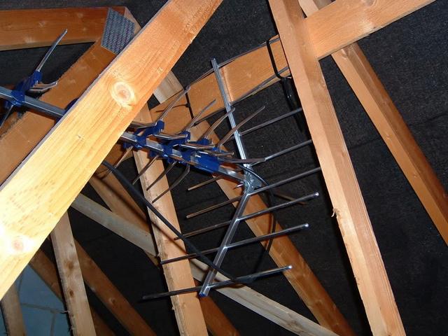 Loft UHF Aerial Installation