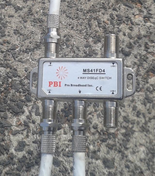 pbi-4-way-diseqc-switch