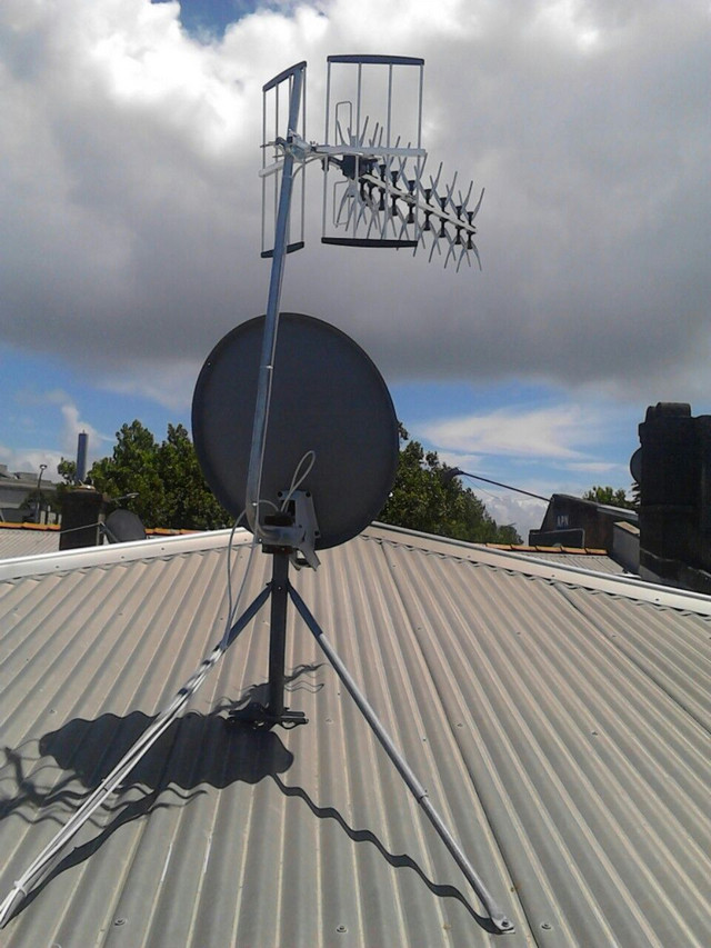 Central Auckland Tv Aerial Installations Freeview Uhf Tv