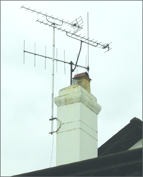 Freeview Hd Aerial Chimney Installation Freeview Tv