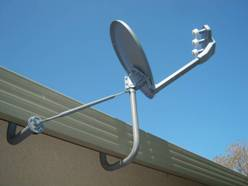 Under Eave Mount Freeview Uhf Tv Aerial Installers